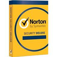 Symantec Norton Security Deluxe 3.0 CZ, 1 uživatel, 3 zařízení, 12 měsíců (elektronická licence) - Elektronická licence