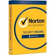 Symantec Norton Security Deluxe 3.0 CZ, 1 uživatel, 5 zařízení, 12 měsíců (elektronická licence) - Elektronická licence