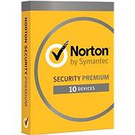 Symantec Norton Security Premium 25GB 3.0 CZ, 1 uživatel, 10 zařízení, 12 měsíců (elektronická licen - Elektronická licence