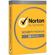 Norton Security Premium CZ, 1 uživatel, 10 zařízení, 3 roky (elektronická licence) - Internet Security