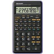 Sharp SH-EL501TVL Black/Purple - Calculator