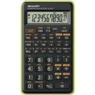 Sharp SH-EL501TBGR, Black/Green - Calculator