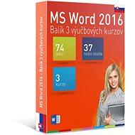 GOPAS MS Word 2016 - 3 samostudijní výukové kurzy na 365 dní SK (elektronická licence)