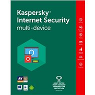Kaspersky Internet Security multi-device pro 4 zařízení na 12 měsíců - Bezpečnostní software