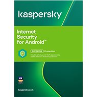 Kaspersky Internet Security for Android for 1 phone or tablet for 12 months, new license - E-license