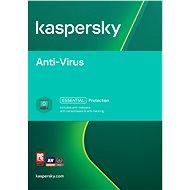 Kaspersky Anti-Virus pro 1 PC na 12 měsíců (elektronická licence) - Antivirus