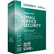 Kaspersky Small Office Security CZ pro 15 PC na 12 měsíců (elektronická licence) - Bezpečnostní software