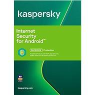 Kaspersky Internet Security pro Android CZ obnova pro 3 mobily nebo tablety na 12 měsíců (elektronic - Bezpečnostní software