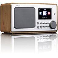 Lenco DIR-100 dřevo - Internetové rádio