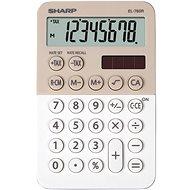 Sharp EL-760R latté/bílá - Kalkulačka
