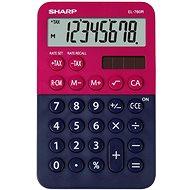 Sharp EL-760R červeno/černá - Kalkulačka