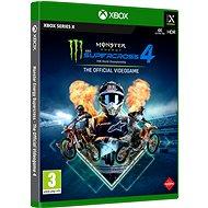 Monster Energy Supercross 4 - Xbox Series X - Hra na konzoli