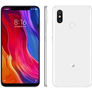 Xiaomi Mi 8 64GB LTE White - Mobile Phone