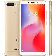 Xiaomi Redmi 6 64GB LTE Zlatý - Mobilní telefon