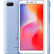 Xiaomi Redmi 6 3GB/64GB LTE modrá - Mobilní telefon