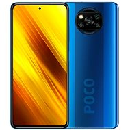 Xiaomi POCO X3 128GB Blue - Mobile Phone