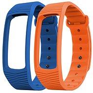 EVOLVEO FitBand B3 náramek modrý + oranžový