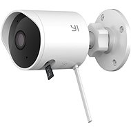 YI Outdoor 1080P Camera White - IP kamera
