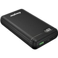 Energizer UE20003PQ_BK USB-C 18W PD with LCD  - 20000mAh (Black) - Powerbanka