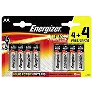 Energizer Max Tužka AA 4+4ks - Jednorázová baterie