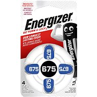 Energizer 675 DP-4 for hearing aid - Button Cell