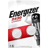 Energizer Lithiová knoflíková baterie CR2430 2 kusy - Knoflíkové baterie