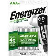 Nabíjecí baterie Energizer Power Plus AAA 700mAh 4ks