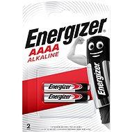 Energizer Speciální alkalická baterie AAAA (E96/25A) 2 kusy - Jednorázová baterie