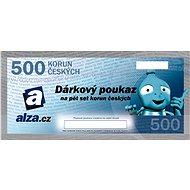 Dárkový poukaz Alza.cz na nákup zboží v hodnotě 500 Kč - Poukaz