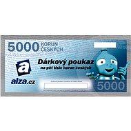 Dárkový poukaz Alza.cz na nákup zboží v hodnotě 5000 Kč - Poukaz