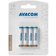 AVACOM Ultra Alkaline AAA 4ks v blistru - Jednorázová baterie