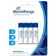 MediaRange Premium AAA 4ks - Baterie