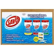SAVO Start pack bazénová chemie - Přípravek
