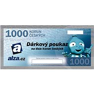 Gift voucher Alza.cz for the purchase of goods worth CZK 1000 - Voucher