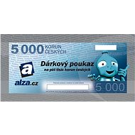 Gift voucher Alza.cz for the purchase of goods worth CZK 5,000 - Voucher