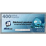 Electronic gift voucher Alza.cz for the purchase of goods worth 400 CZK - Voucher