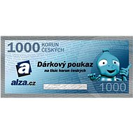 Electronic gift voucher Alza.cz for the purchase of goods worth CZK 1000 - Voucher