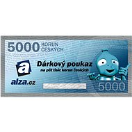 Electronic gift voucher Alza.cz for the purchase of goods worth CZK 5000 - Voucher