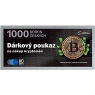 Dárkový poukaz na nákup kryptoměn v hodnotě 1000 Kč - Poukaz