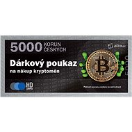 Gift voucher for the purchase of cryptographies worth CZK 5,000 - Voucher