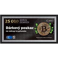 Elektronický poukaz na nákup Bitcoinu a dalších kryptoměn v hodnotě 25 000 Kč - Voucher