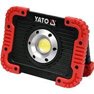 Yato Rechargeable COB LED 10W Flashlight and Power Bank - LED Light