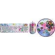 Yenkee Fantasy Set Girls - Set klávesnice a myši