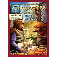 Carcassonne - Buyers and builders, 2nd Extension - Board Game Expansion