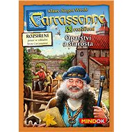 Carcassonne - Abbey and Mayor,  5th Enlargement - Board Game Expansion