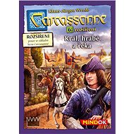 Carcassonne - King, Earl and River - 6th Enlargement - Board Game Expansion