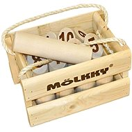 Wooden bowling set Mölkky  - Game Set