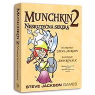Munchkin 2nd Extension - Unreal ax - Card Game Expansion