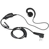 Motorola HKLN4604 SWIVEL EARPIECE, W/PTT, SLIM PLUG, PVC FREE / XT,CP,DP1000,FT-25,FT-65, FT-4XE, FT - Headphones
