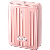 Zendure SuperMini - 10000mAh Credit Card Sized Portable Charger with PD (Pink) - Powerbanka